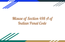 Misuse of Section 498A IPC