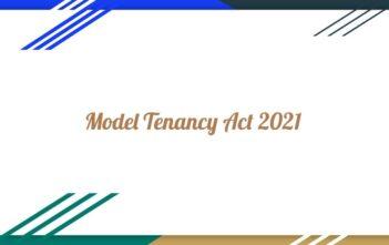 Model Tenancy Act 2021 India