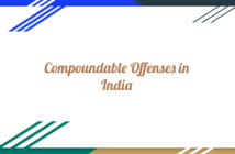 Compoundable Offense in India